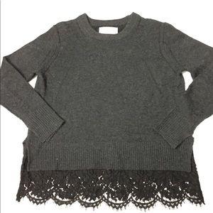 Brochu Walker wool cashmere sweater size small